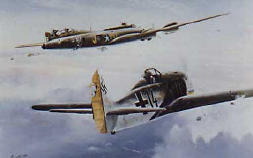 BattleDamaged B17 Flying Fortresses Contents