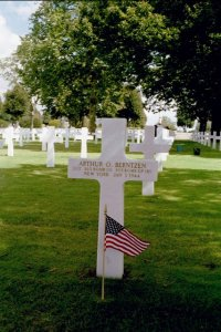 Brittany American Cemetery 303rd Bg Graves