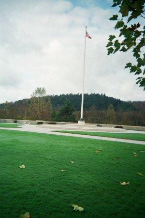 Epinal American Cemetery 303rd Bg Graves