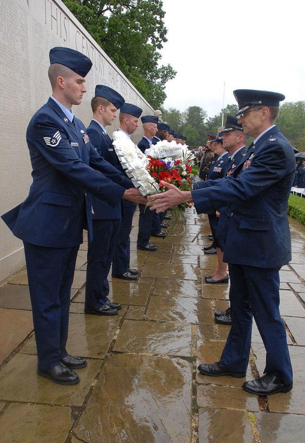 Cambridge American Cemetery Memorial Day 2007