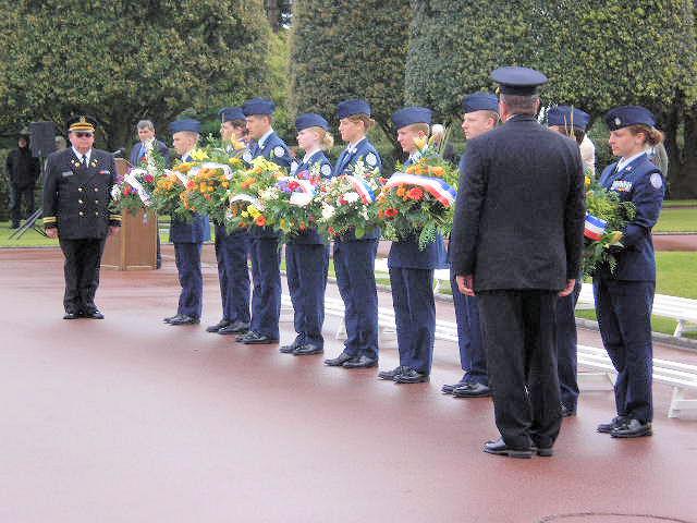 Normandy American Cemetery Memorial Day 2007