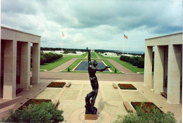 Normandy American Cemetery 303rd Bg Graves