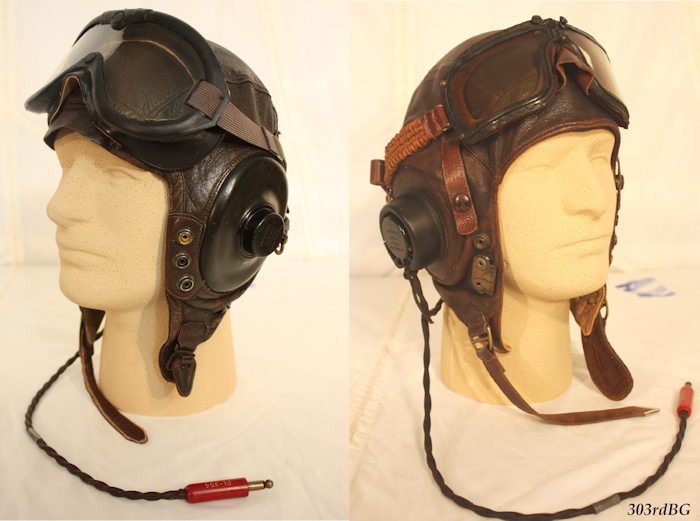 9cd0c9527f (F-12) Shown above left is the B-8 goggle on top of an A-11 helmet