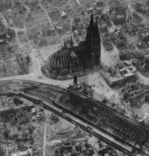 Cologne germany for Koln ww2