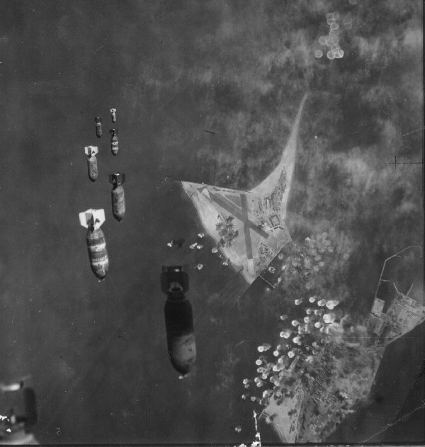 Bombs over Heligoland