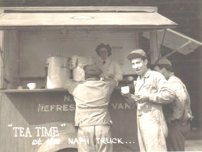 Naafi Refreshment Van