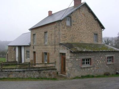 House With Barn Attached In Pelyben France